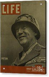 Patton Acrylic Print