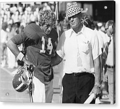 Paul Bear Bryant - Alabama Football Acrylic Print