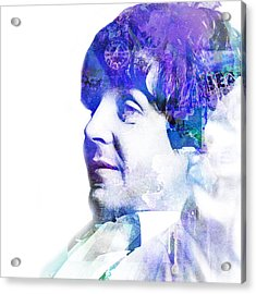 Paul Mccartney  Acrylic Print