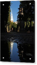 Paul Revere And The Old North Church Acrylic Print by Juergen Roth