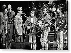 Paul Simon And Friends Acrylic Print by Chuck Spang