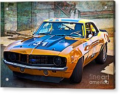 Paul Stubber Camaro Acrylic Print