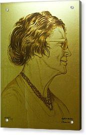 Paula Ben-gurion Acrylic Print