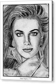 Paulina Porizkova In 1987 Acrylic Print
