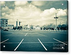 Paved Paradise Acrylic Print by Colleen Kammerer