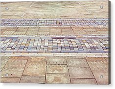 Paving Background Acrylic Print