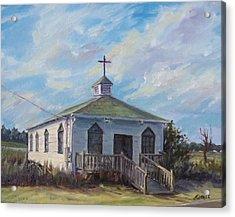 Pawleys Chapel Acrylic Print