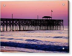 Pawleys Island Pier, South Carolina, Usa Acrylic Print