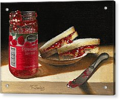 Pb And J 2 Acrylic Print by Timothy Jones