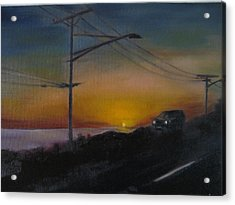 Pch At Night Acrylic Print