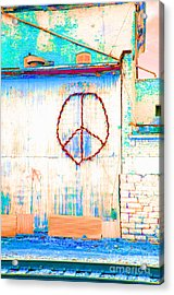 Peace 1 Acrylic Print by Minnie Lippiatt