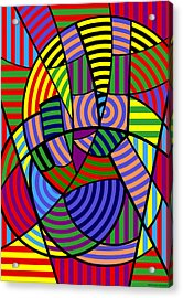 Peace 4 Of 12 Acrylic Print by Randall Henrie