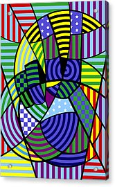 Peace 8 Of 12 Acrylic Print by Randall Henrie
