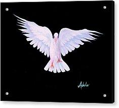 Peace Acrylic Print by Adele Moscaritolo