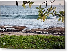 Peace And Harmony At The Beach Acrylic Print