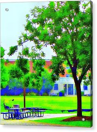 Peace And Lunch Acrylic Print