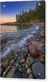 Peace And Quiet On Little Hunters Beach Acrylic Print by Rick Berk