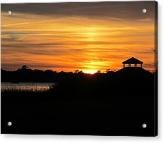 Acrylic Print featuring the photograph Peace And Serenity by Joetta Beauford