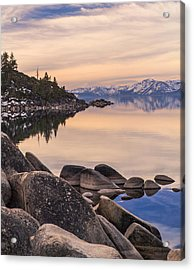 Peace And Serenity Acrylic Print by Nancy Marie Ricketts