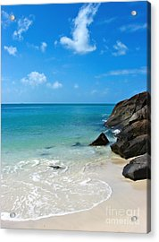 Peace At Whitehaven Acrylic Print by Nicole Doyle
