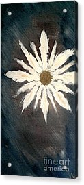 Acrylic Print featuring the painting Peace Flower by Jacqueline McReynolds