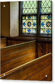 Peace In The Pews Acrylic Print
