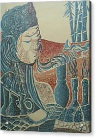 Peace Inside Us Acrylic Print by Ousama Lazkani