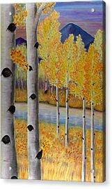 Peace Like A River I Acrylic Print by Elizabeth Golden