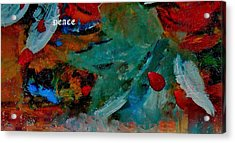 Acrylic Print featuring the painting Peace by Lisa Kaiser