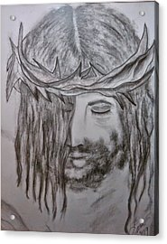 Acrylic Print featuring the drawing Peace by Lori  Lovetere