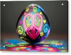 Peace Love Spoon Acrylic Print
