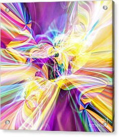 Acrylic Print featuring the digital art Peace by Margie Chapman