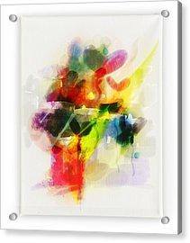 Peace Acrylic Print by Maryann Burrows