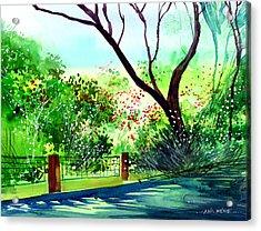 Peace Of Mind 1 Acrylic Print by Anil Nene