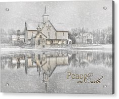 Peace On Earth Acrylic Print by Lori Deiter