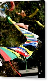 Peace On The Winds Acrylic Print by Ramon Fernandez