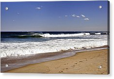 Peace Shores Acrylic Print by Joanne Brown