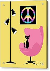 Peace Symbol Acrylic Print