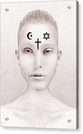 Peace Acrylic Print by Yosi Cupano
