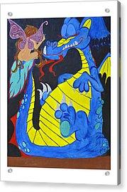 Peacefool Acrylic Print by HannaH Fussell