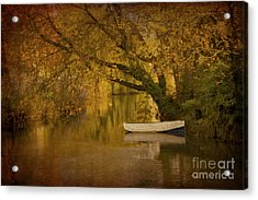 Peaceful Backwater Acrylic Print