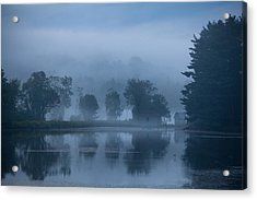 Peaceful Blue Acrylic Print by Karol Livote