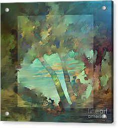 Peaceful Dawn Acrylic Print by Ursula Freer