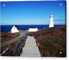 Peaceful Day At Cape Spear Acrylic Print