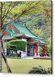 Peaceful Easy Taiwan Acrylic Print