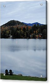 Peaceful Evening At The Lake Acrylic Print
