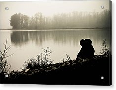Peaceful Fog Acrylic Print