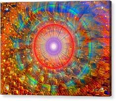 Peaceful Harmony Acrylic Print by Michael Durst