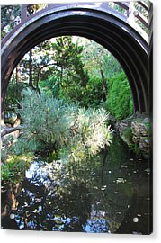 Peaceful Lagoon Acrylic Print