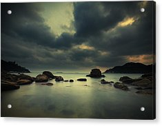 Acrylic Print featuring the photograph Peaceful Moment 1 by Afrison Ma